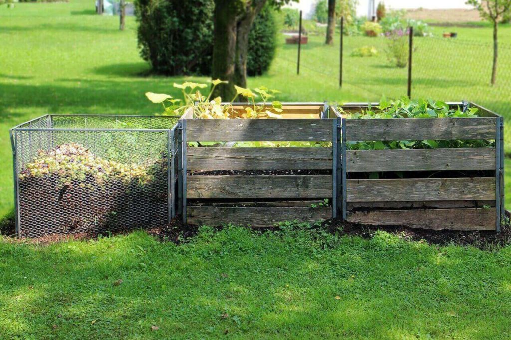 stationary composter