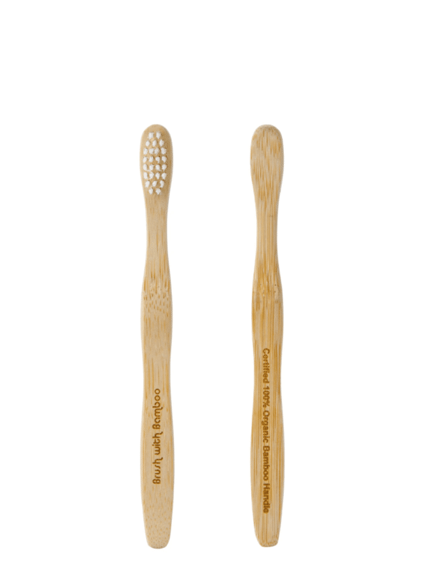 Well Earth Goods Child's Plant-Based Bamboo Toothbrush